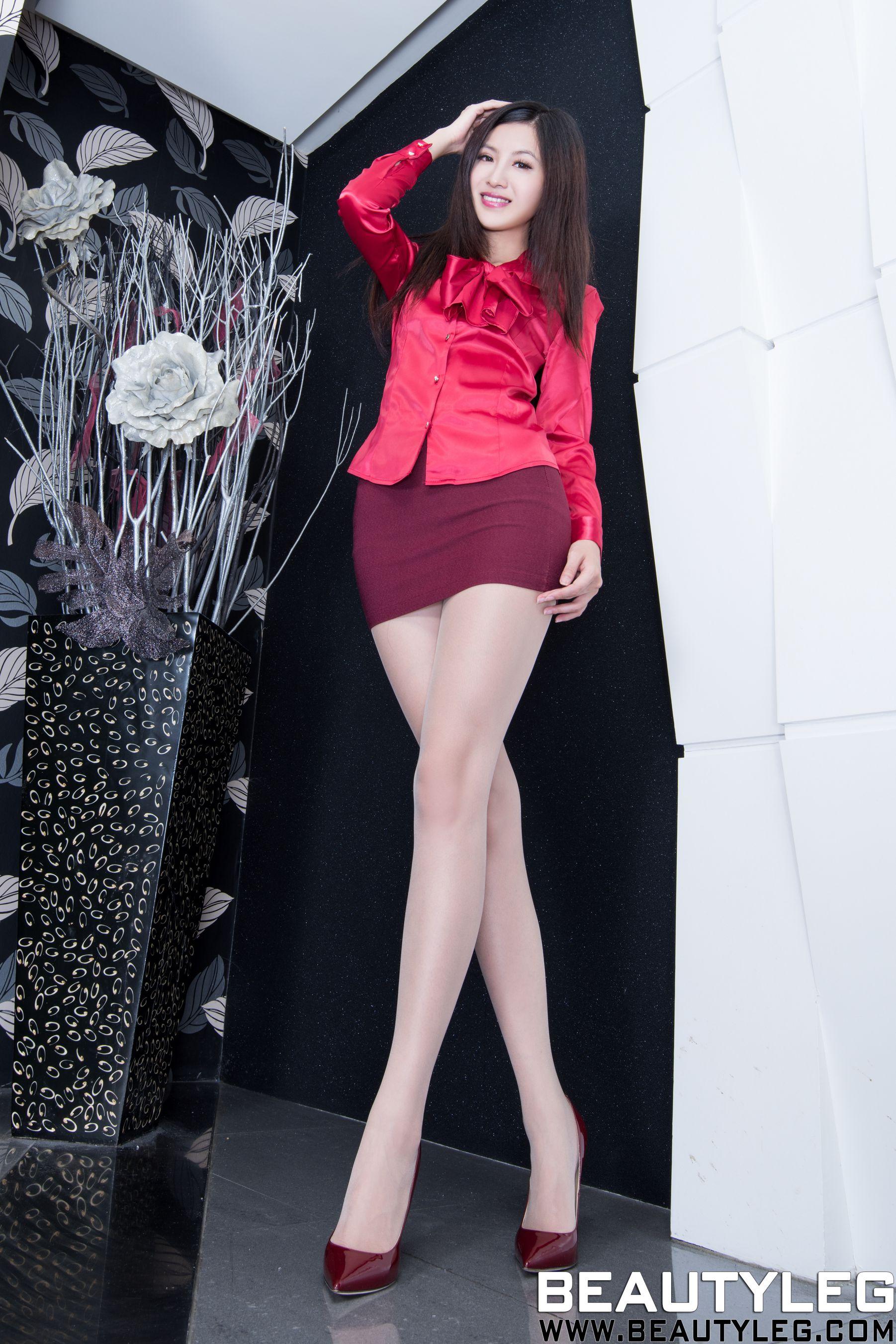 VOL.1768 [Beautyleg]美腿:简晓育(腿模Vicni,晓育儿)高品质写真套图(43P)