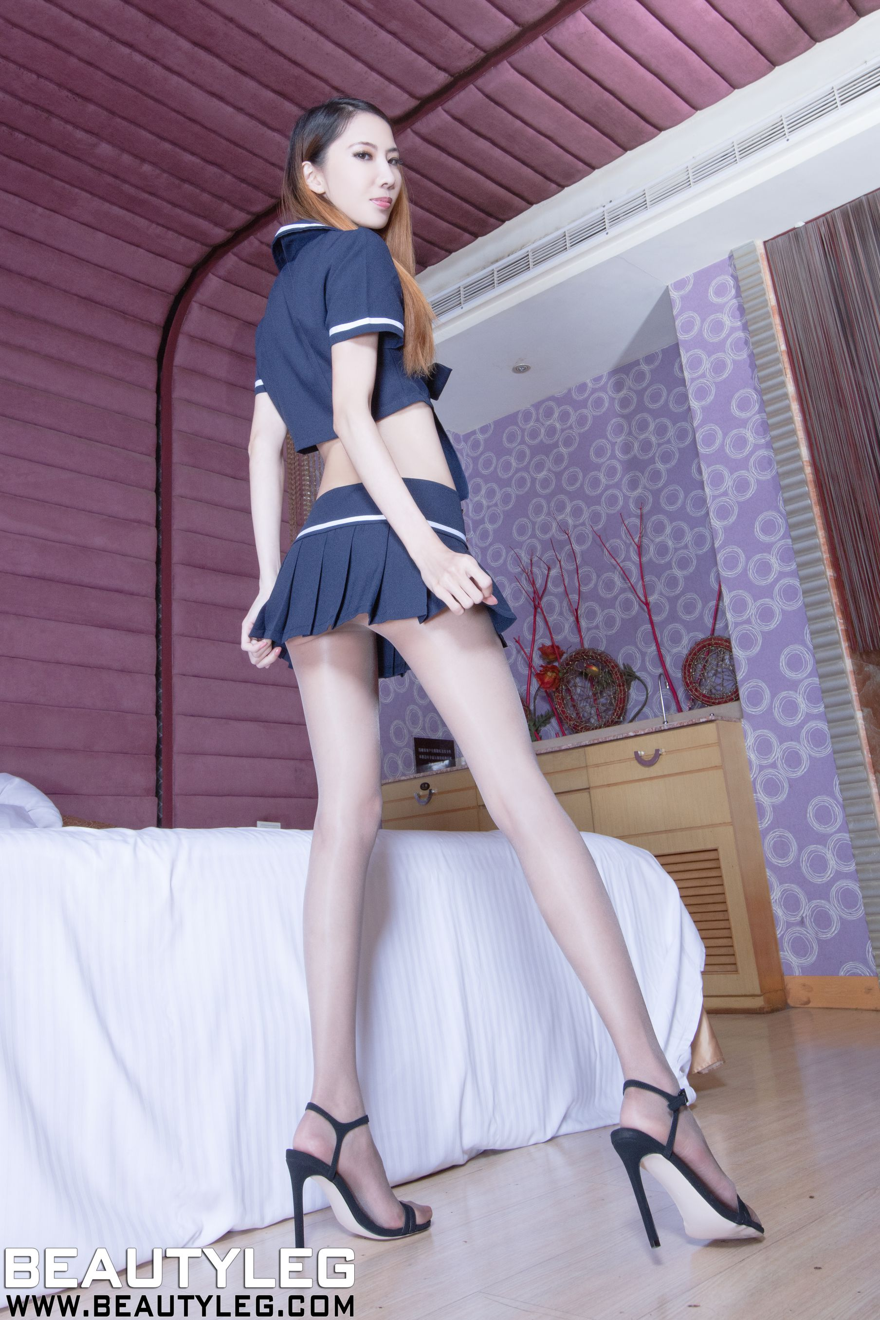 VOL.45 [Beautyleg]高跟美腿:童采萱(Beautyleg Yoyo,腿模Yoyo)高品质写真套图(43P)